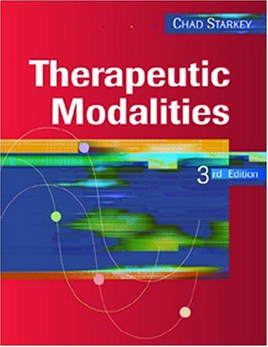 9780803611399: Therapeutic Modalities