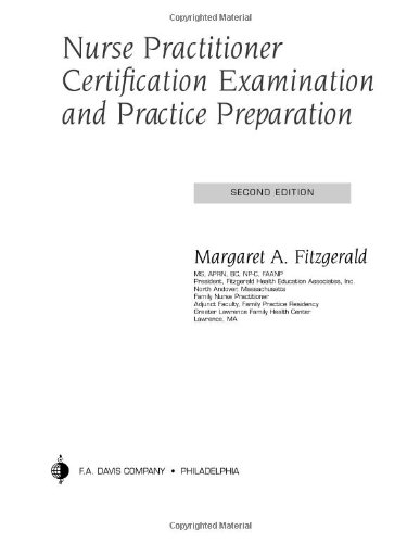 9780803611597: Nurse Practitioner Certification Examination and Practice Preparation