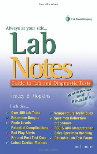 9780803612655: LabNotes: Guide to Lab & Diagnostic Tests