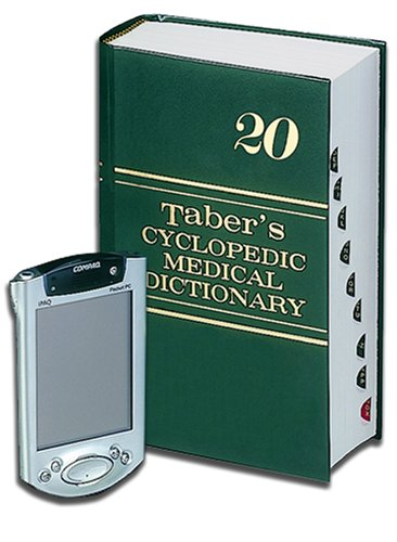 9780803614086: Taber's Cyclopedic Medical Dictionary For PDA