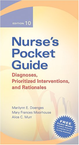 9780803614802: Nurse's Pocket Guide: Diagnoses, Prioritized Interventions, and Rationale 10th Editions (Nurse's Pocket Guide: Diagnoses, Interventions & Rationales)