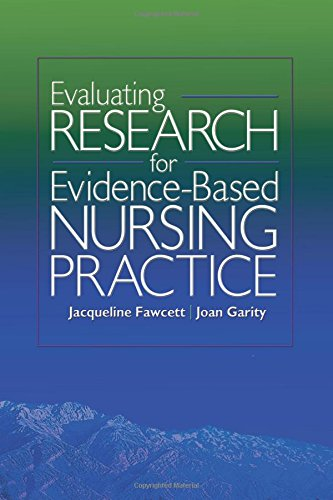 9780803614895: Evaluating Research for Evidence-based Nursing Practice