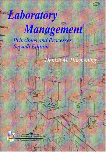 9780803615991: Laboratory Management: Principles and Processes