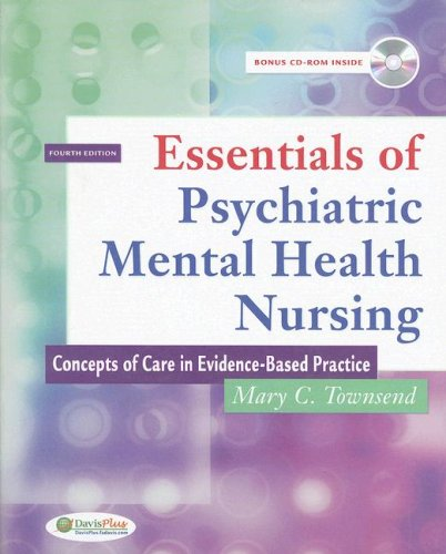 9780803616110: Essentials of Psychiatric Mental Health Nursing: Concepts of Care in Evidence-Based Practice