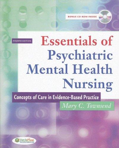 9780803616110 Essentials Of Psychiatric Mental Health Nursing