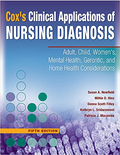 9780803616554: Cox's Clinical Applications of Nursing Diagnosis: Adult, Child, Women's, Mental Health, Gerontic, and Home Health Considerations