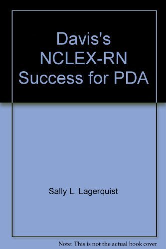 9780803617780: Davis's NCLEX-RN Success, 2nd Edition, for PDAs powered by Skyscape (CD-ROM edition)
