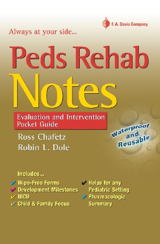 9780803618152: Peds Rehab Notes: Evaluation and Intervention Pocket Guide (Davis's Notes Book)