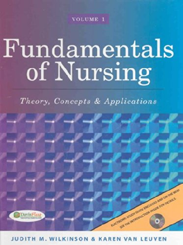 9780803618411: 1: Fundamentals of Nursing: Theory, Concepts & Applications