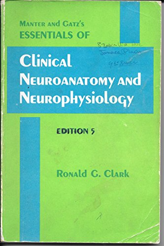 9780803618503: Manter and Gatz's Essentials of clinical neuroanatomy and neurophysiology
