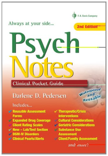 9780803618534: PsychNotes: Clinical Pocket Guide, 2nd Edition
