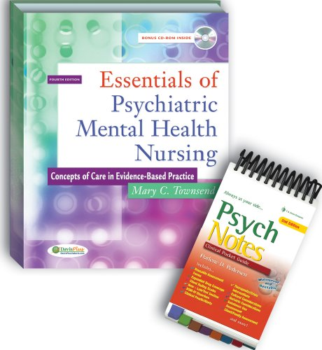 9780803618985: Package of Essentials of Psychiatric Mental Health Nursing, 4th Edition & PsychNotes, 2nd Edition