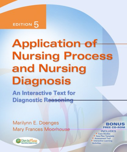 9780803619098: Application of Nursing Process and Nursing Diagnosis: An Interactive Text for Diagnostic Reasoning, 5th Edition