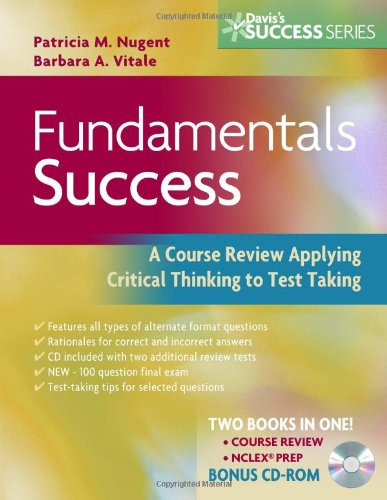 9780803619210: Fundamentals Success: A Course Review Applying Critical Thinking to Test Taking