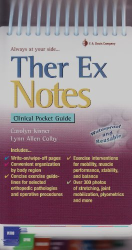 9780803620773: Ther Ex Notes: Clinical Pocket Guide (Davis's Notes)