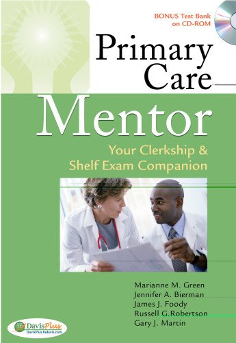 9780803621251: Primary Care Mentor: Your Clerkship & Shelf Exam Companion (Davis's Mentor)