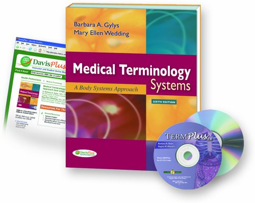 9780803621459: Medical Terminology Systems, 6th Edition + Audio CD + TermPlus 3.0