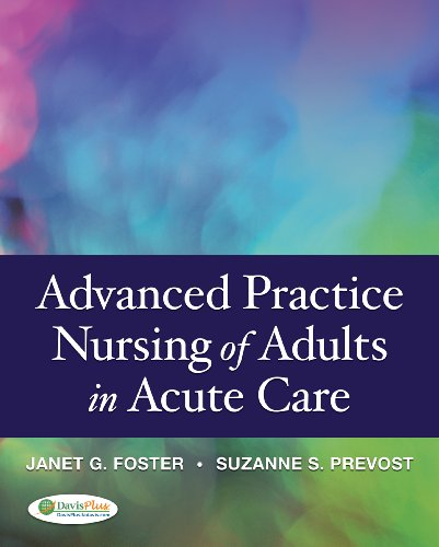 9780803621626: Advanced Practice Nursing of Adults in Acute Care 1e