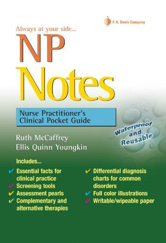 9780803621671: NP Notes: Nurse Practitioner's Clinical Pocket Guide (Davis's Notes)