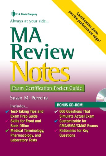 MA Review Notes: Exam Certification Pocket Guide (Exam Certification ...