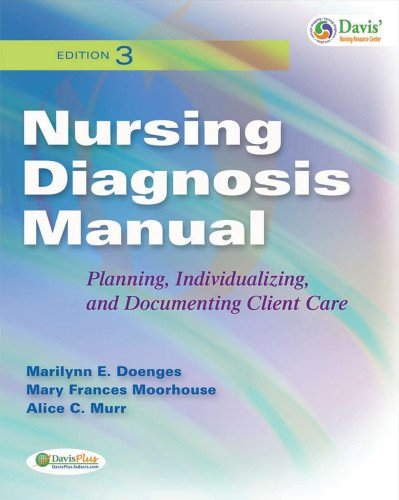 Nursing Diagnosis Manual: Planning, Individualizing and Documenting: Marilyn Doenges, Mary