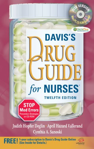9780803623088: Davis's Drug Guide for Nurses + Resource Kit CD-ROM