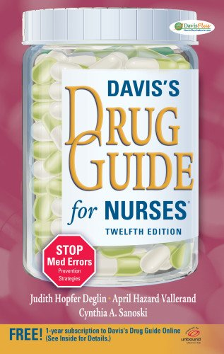 9780803623095: Davis's Drug Guide for Nurses