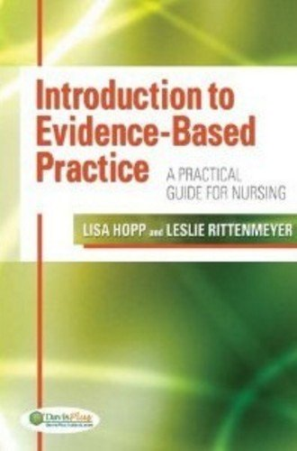 9780803623286: Introduction to Evidence Based Practice: A Practical Guide for Nursing