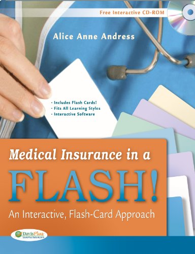 Medical Insurance in a Flash!: An Interactive, Flash-Card Approach: Andress CCS-P CCP, Alice Anne