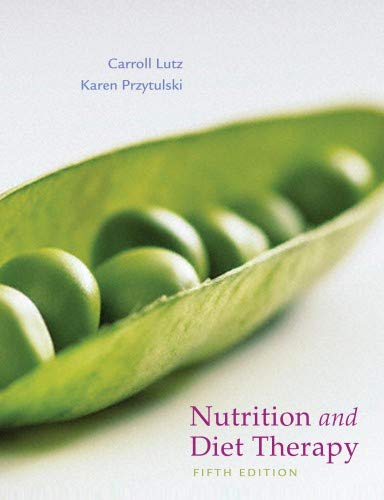 9780803625235: Nutrition & Diet Therapy (DavisPlus)