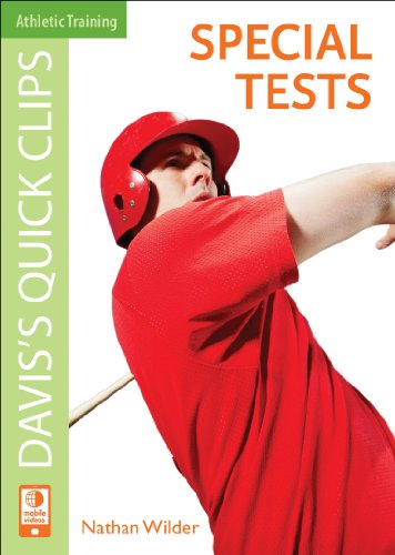 9780803625464: Davis's Quick Clips: Special Tests