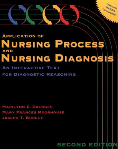 9780803626768: Application of Nursing Process and Nursing Diagnosis: An Interactive Text for Diagnostic Reasoning
