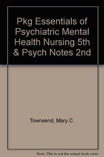 9780803627024 Pkg Essentials Of Psychiatric Mental Health Nursing