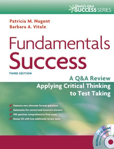 9780803627796: Fundamentals Success: A Q&A Review Applying Critical Thinking to Test Taking (Davis's Success)