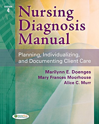 9780803628045: Nursing Diagnosis Manual: Planning, Individualizing, and Documenting Client Care