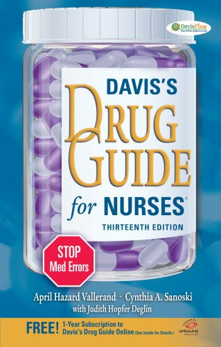 9780803628342: Davis's Drug Guide for Nurses