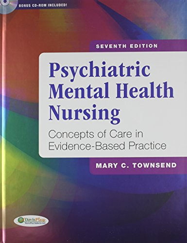 Pkg Psychiatric Mental Health Nursing 7th & Nursing Diagnoses in Psychiatric Nursing 8th (0803628404) by Mary Townsend