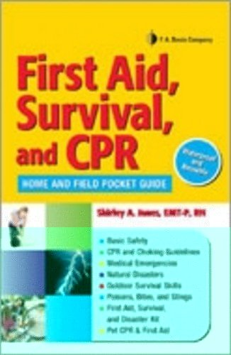 POP Display First Aid, Survival and CPR Bakers Dozen: Home and Field Pocket Guide (9780803628496) by Shirley A. Jones; F.A. Davis