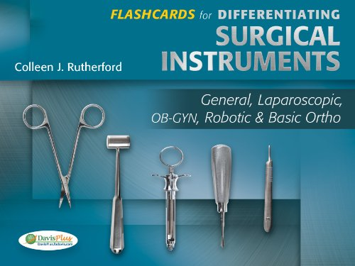 9780803628977: Flashcards for Differentiating Surgical Instruments: General, Laparoscopic, OB-GYN, Robotic & Basic Ortho