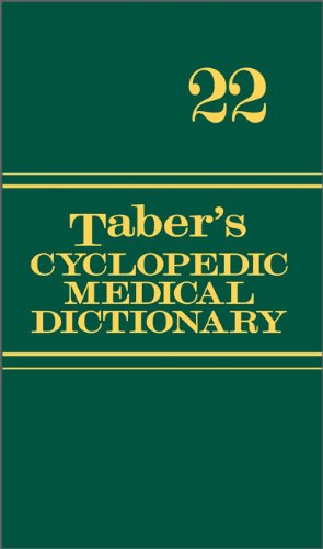 9780803629783: Taber's Cyclopedic Medical Dictionary (Non-thumb-indexed Version) (Taber's Cyclopedic Medical Dictionary (Non-Indexed Version))