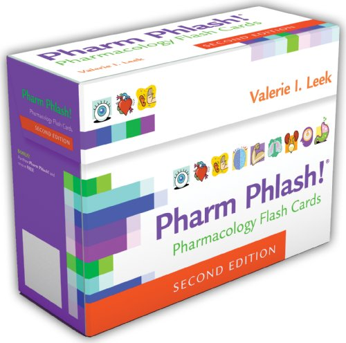 9780803629943: Pharm Phlash Cards!: Pharmacology Flash Cards