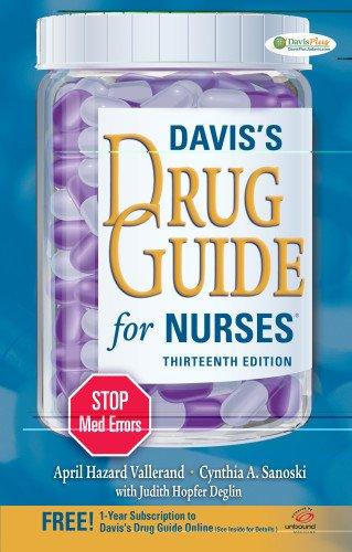 9780803637078: Davis's Drug Guide for Nurses