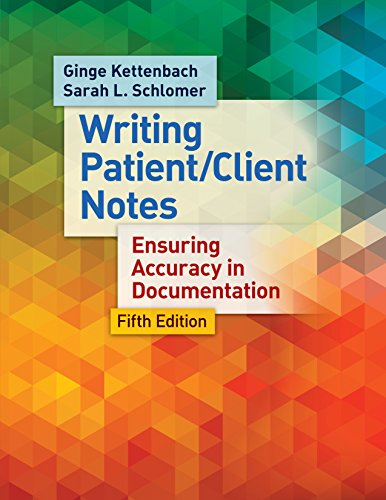 9780803638204: Writing Patient/Client Notes: Ensuring Accuracy in Documentation