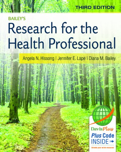 9780803639164: Research for the Health Professional