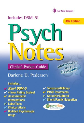 9780803639225: Psychnotes: Clinical Pocket Guide (Davis's Notes)