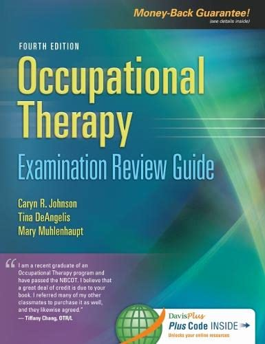 Occupational Therapy Certification Review Guide: Johnson, Caryn R.