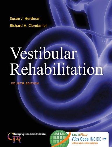 9780803639706: Vestibular Rehabilitation (Contemporary Perspectives in Rehabilitation)