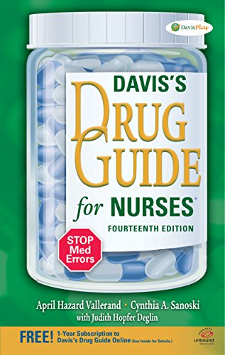 9780803639768: Davis's Drug Guide for Nurses