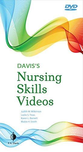 Davis's Nursing Skills Videos: Wilkinson PhD CNS APRN, Judith M., Treas PhD RN CPNP-PC NNP-BC,...