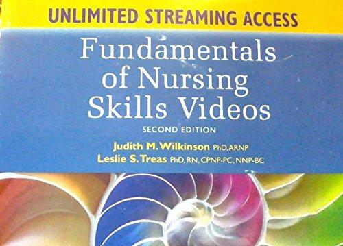 9780803640450: Wilkinson: Fundamentals of Nursing - Skills Videos Card with access code